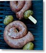 Italian Salsiccia Sausage Metal Print