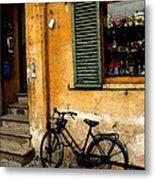 Italian Sidewalk Metal Print
