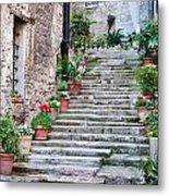 Italian Stairway Metal Print