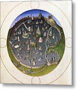 Italy: Rome, 15th Century Metal Print