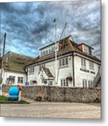 Itchenor Harbour Office Hdr Metal Print
