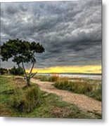 Itchenor West Sussex Hdr Metal Print