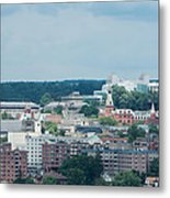 Ithaca New York And Cornell University Metal Print