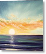It's A New Beginning Somewhere Else Metal Print by Gina De Gorna