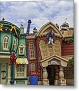 It's A Toontown Christmas Metal Print