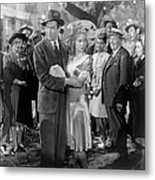 Its A Wonderful Life, Center From Left Metal Print