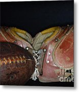 Its All About Football Metal Print