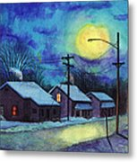 Its Cold Outside. Metal Print
