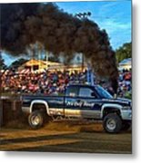 Its Only Money Pulling Truck Metal Print