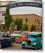 Its The Climate For A Cruise Metal Print