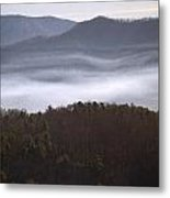 It's The Smokies Folks Metal Print by Skip Willits