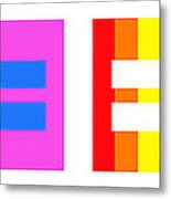 It's Time - Equal Rights For All By Sharon Cummings Metal Print