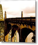 It's Water Under The Bridge 2  Metal Print by Sheldon Blackwell