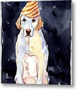 It's Your Birthday Metal Print by Molly Poole