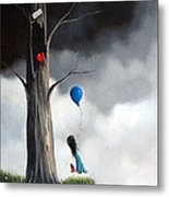 I've Been Waiting For You By Shawna Erback Metal Print by Shawna Erback
