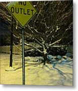 I've Tried To See The Warnings Metal Print