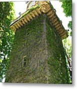 Ivy Along The Watchtower Metal Print