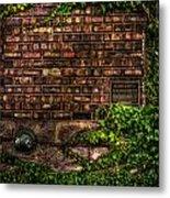 Ivy And Bricks Metal Print