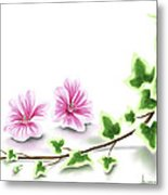 Ivy And Mallow Metal Print