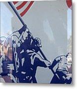 Iwo Jima Flag Raising Design Arizona City Arizona 2004 Metal Print