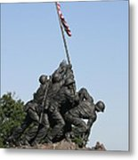 Iwo Jima Memorial - 12121 Metal Print