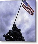Iwo Jima Memorial  Metal Print