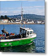J B P Leaving The Harbour Metal Print