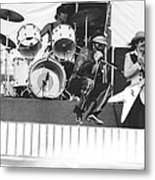 J. Geils Band In Oakland 1976 Metal Print