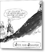 Jack And Jennifer Metal Print