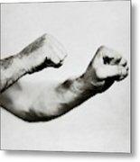 Jack Dempsey's Hands Metal Print
