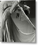 Jack Holland And June Hart Dancing Metal Print