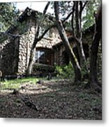 Jack London House Of Happy Walls 5d21962 Metal Print by Wingsdomain Art and Photography