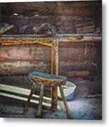 Jack London's Log Cabin Metal Print