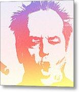 Jack Nicholson - 2 Metal Print