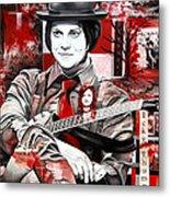 Jack White Metal Print by Joshua Morton
