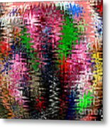 Jacks And Marbles Abstract Metal Print