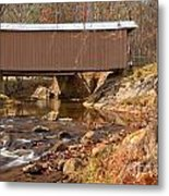 Jacks Creek Bridge Over Smith River Metal Print