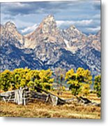 Jackson Hole Metal Print by Kathleen Bishop