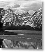 Jackson Lake Grand Teton National Park Metal Print