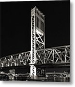 Jacksonville Florida Main Street Bridge Metal Print