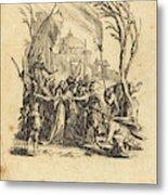 Jacques Callot French, 1592 - 1635, The Betrayal Metal Print