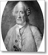 Jacques De Vaucanson (1709-1782) Metal Print