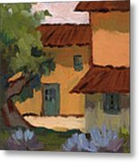 Jacques Farm In Provence Metal Print