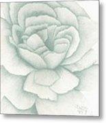 Jade Rose Metal Print
