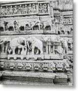Jagdish Temple Sculpture Metal Print