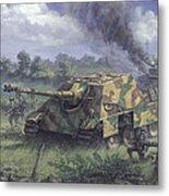 Jagdpanther In Normandy 1944 Metal Print