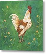 Jagger The Rooster Metal Print
