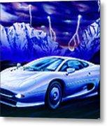 Jaguar 220 Metal Print