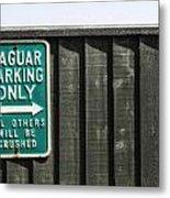 Jaguar Car Park Metal Print by Joana Kruse