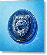 Jaguar Emblem -0056c Metal Print